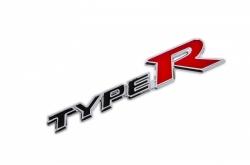Шильдик Type R с креплением для решетки радиатора