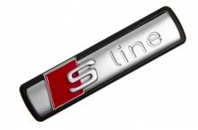 Шильдик S Line для Audi на фиксаторах